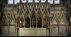 [47461] St George, Doncaster : High Altar (Budby) Tags: doncaster church southyorkshire victorian minster reredos highaltar