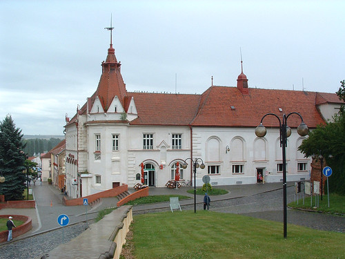 Slavkov u Brna főtere