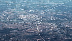 Rio Grande (zeesstof) Tags: aerial aerialview airline commercialflight flight houstontopuertovallarta mexico ríogrande rioaguanaval river united unitedairlines vacation viewfromwindow windowseat zacatecas zeesstof