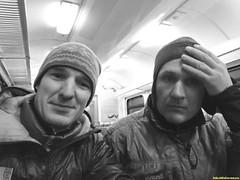 Паровоз подъехал ровно в 21-10. С лютого мороза в теплом вагоне мы ощутили себя как дома. Непрошенных гостей не было всю дорогу и мы бесплатно достигли нужных нам станций.