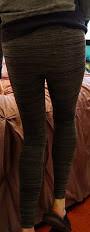 Grey footless tights (doverlt) Tags: greytights tights men legs leggings footlesstights feet fashiontights