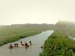 bathing in the river (aradearofixs) Tags: playing nature boys river joking bathing village cool freez nudes