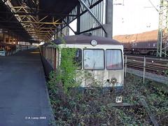 DB 515 522-001 ausgemustert  Bf Wanne-Eickel 31-03-2003 (Alex Leroy) Tags: db 515 522001 ausgemustert bf wanneeickel 31032003