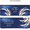 free vector Happy New year 2017 Banners Card Set (cgvector) Tags: 2017 abstract anniversary background banner calendar card celebration cheerful christmas colorful countdown decoration elegant eve event festival firework flare gift greeting happy header hour illustration invitation merry midnight new night number party sale shimmer shiny shopping show snowflake sparkle sparkler stars template time tree vector website winter wish xmas year