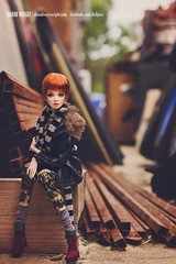 Kira - Tender Creation (Sharon Wright Photography) Tags: doll artdoll bjd balljointeddoll fashion fashiondoll editorial dollpics dollphoto sharonwright streetwear tender creation kira