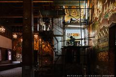 Murals in Wat Tri Thotsathep Worawihan temple (terkhomson) Tags: architecture art artist asia asian bangkok buddhism buddhist classic culture editorial faith gold handmade interior landmark mural religion religious temple thai thailand traditional travel traveldestinations ubosot wat