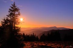 Sonnenuntergang am Feldberg 1