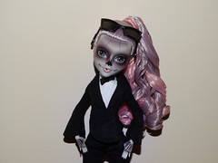 Blow it in your face, blow it in your face (meike__1995) Tags: monster high zomby gaga mattel collector doll