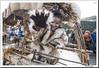 LA VIJANERA (doctorangel) Tags: spain tradicion tradition pagano pagana primitiva doctorangel doctor angel silió cantabria la vijanera vinajera rito fiesta folclore folklore desfile carnaval mascarada mascaras invierno carnival masquerade mask santander montaña molledo