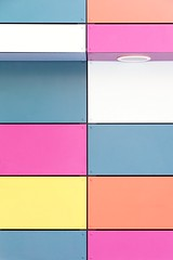Berlignes (Eric Dufour photographies) Tags: wall colors cityscape square graphics graphism minimalism mondrian rectangle facade shapes light lines