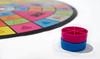 Pink and Blue 15Jan17 1-2 (Helen Mulvey) Tags: pink blue game board trivialpursuit depth field nikon d5100