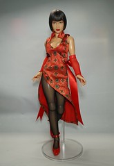 Custom Tekken Anna Williams 1/6 Figure (Telasio86) Tags: custom tekken anna williams 16 figure doll repaint 12 ooak female