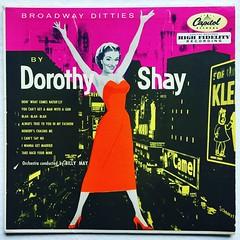 Dorothy Shay (1055) Broadway Ditties (Christian Montone) Tags: montone christianmontone records record vinyl 10inch album 1950s dorothyshay midcentury