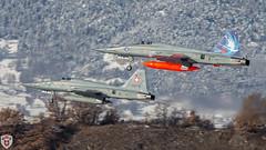 Tiger F5 in Sion (brutus_ch) Tags: ralfmaurer wef wef17 sion swissairfoce schweiz schweizerluftwaffe switzerland fighter tiger f5 f5tiger