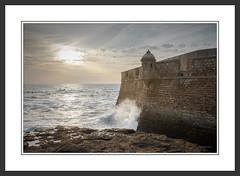 Castillo de San Sebastian, Cadiz (jmbarcia) Tags: ©jmbarcia europa oceano andalucia agua castillodesansebastian castillo copyright©2017jmbarcia geotagged cadiz españa atlantico esp hdr exposureblend