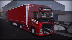 Bologna (Ballinkowy) Tags: truck trip trucks ets2 eurotrucksimulator2 italy volvo krone brake loading