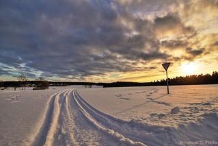 Im Winter dreht sich die Welt nicht um die Sonne, sondern um einen Ofen