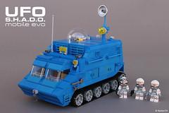 UFO | S.H.A.D.O. mobile evo (Andrea Lattanzio) Tags: lego foitsop ufo shado shadomobile legomoc norton74 scifi legotank mobile space classicspace tv series tvseries armored minifig