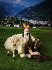 The wolf and the ram (erinna_weatherwax) Tags: azone excute yuta felted