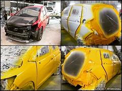 🚗🚕 ต้องการทำสีรถยนต์ เปลี่ยนสี หรือ สีเดิม 2K แห้งช้าทั้งระบบ ทักมาน้าาา :) . 🎯 รีวิวทำสีรถ Jazz GK >> https://www.facebook.com/NekketsuShop/videos/1253089594740010/ . =================== สนใจแต่งรถ 😊 แอดไลน์ =================== .