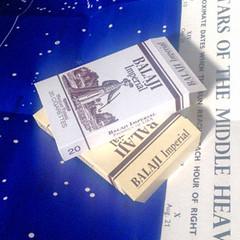 Balaji Imperial (Skeptical Beowulf) Tags: alien balaji cigarettes props prop replica paper ephemera nostromo