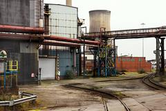 Diamonds are not Forever (Kingmoor Klickr) Tags: diamondcrossing flatcrossing britishsteel tata scunthorpe platemill industry industrialrailway