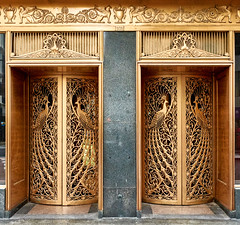 Art Deco doors. (bkkay1) Tags: chicago