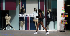 `1462 (roll the dice) Tags: portrait music black hot colour reflection sexy london window glass girl weather fashion shop shopping advertising model funny pretty sad natural legs walk candid streetphotography surreal sunny stranger move shorts tall mad oxfordstreet w1 westend sal longlegs londonist