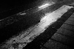 black summer (bendikjohan) Tags: life street city summer urban bw white black tarmac oslo norway blw crossing ground zebra neopan scandinavia neopan1600 bnw