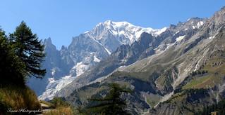 Val Ferret . Le Mont Blanc
