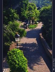 """Jardin des Tanneurs""  Metz (Moselle, Lorraine, France) (LauterGold) Tags: france altstadt lorraine metz moselle vieilleville jardindestanneurs"
