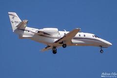 Private --- Cessna 560XL Citation XLS+ --- G-DEIA (Drinu C) Tags: plane private aircraft aviation sony dsc cessna citation mla bizjet privatejet xls 560xl lmml hx100v adrianciliaphotography gdeia