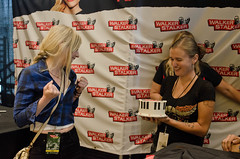 HJM_2339 (Walker Stalker Con Photos) Tags: cakes heather emilykinney walkerstalkercon walkerstalkerconboston walkerstalkerconboston2015