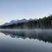 A Morning Sunrise at Herbert Lake (Banff National Park)