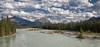 Athabaska River (Mark Heine Photos) Tags: ca canada mountains jasper alberta pinetrees jaspernationalpark icefieldsparkway canadianrockies glacialwater rockflour athabaskariver markheine