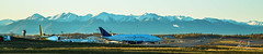 Dreamlifter ANC taxi (special.k80731) Tags: morning alaska dawn airport aircraft jet ak anchorage boeing anc atlasair panc aircargo dreamlifter