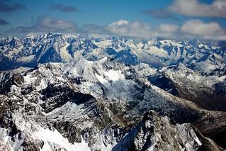 dalla cima del Pizzo Coca (3.050 m)