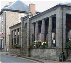 Classical Hay, formerly the Butter Market (alanhitchcock49) Tags: wales town small september welsh 13 hayonwye borders powys marches 2015
