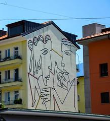 House in Locarno (realdauerbrenner) Tags: travel summer alps painting schweiz switzerland reisen europa europe sommer locarno alpen malerei mitteleuropa 2015 tecino kantontessin