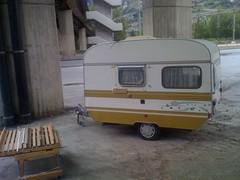 HAPPY CAMPER (viernullvier) Tags: camping camp caravan wallis happycamper wohnwagen happycamper3000 tobeahappycamper