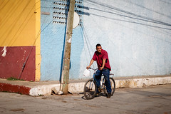 Man on bicycle (Lil [Kristen Elsby]) Tags: street travel topv1111 cuba streetphotography streetlife trinidad editorial travelphotography documentaryphotography canon5dmarkii