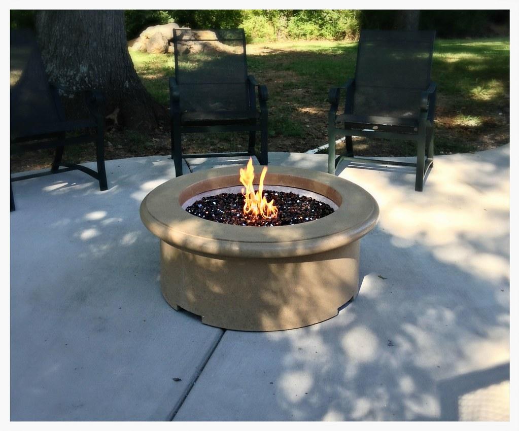 American Fyre Designs Fire Pit. Hixson, Tn.