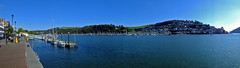 Ferry Pontoon on the River Dart Dartmouth Devon (Cornishcarolin. Thank you everyone xxxx) Tags: water boats panoramas devon dartmouth pontoons pontoon riverdart