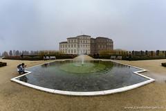 Nei giardini de La Venaria Reale