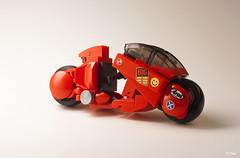 Akira  Kaneda's Bike _13 (_Tiler) Tags: anime bike lego manga motorcycle akira cyberpunk kaneda otomo katsuhiro