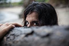 Instinto animal (Dani_vr) Tags: espaa mujer eyes corua modelo galicia ojos angry ira mirada enfado sesin instinto furia