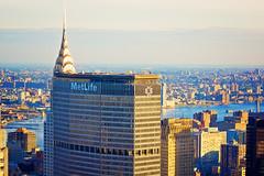 New York - MetLife & Chrysler Building (Stuart Beards) Tags: manhattan skyline chrysler building new york metlife