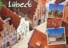 Received Postcard (lostinmaroc) Tags: lubeck germany deutschland luebeck architecture city postcard