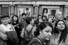 Roma - 2016 (Enzo D.) Tags: biancoenero blackandwhite streetphotography bw group italia italy olympus people roma rome tourists wwwenzodemartinocom lazio it fontanaditrevi