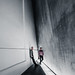 Somewhere in the corner. (Philipp Götze) Tags: architecture dresden concrete people lowlight